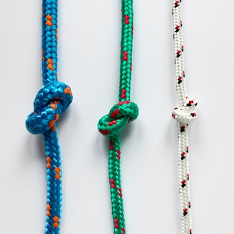 Parallelle nautische touwknopen