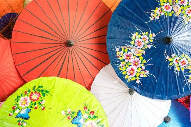 Paraplu, bo zong, chiang mai, thailand