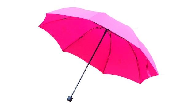 Paraplu op wit