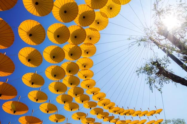 Paraplu oud noordelijk thailand