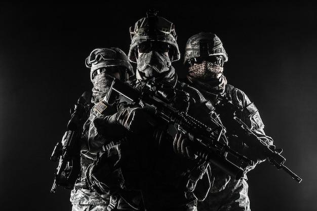 Paratroopers in de lucht infanterie