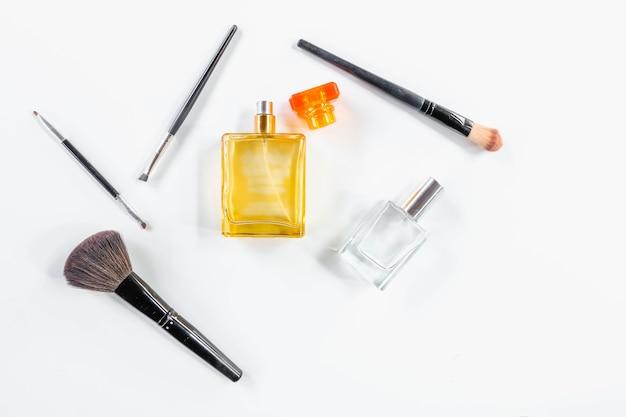 Parfum met gezichtsborstel
