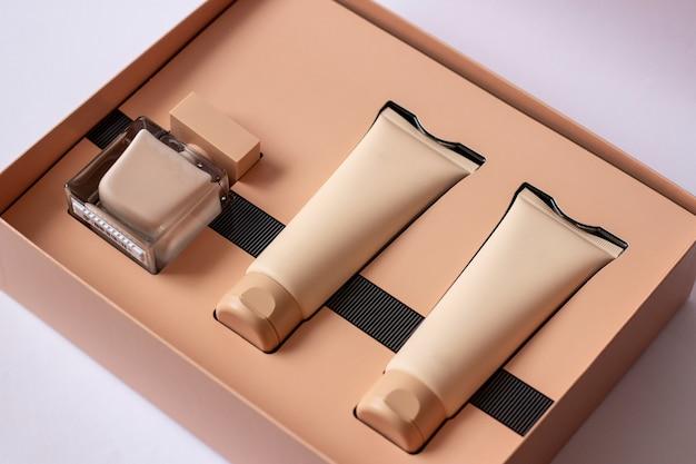 Parfumset in een geschenkdoos