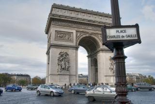 Parijs in de winter