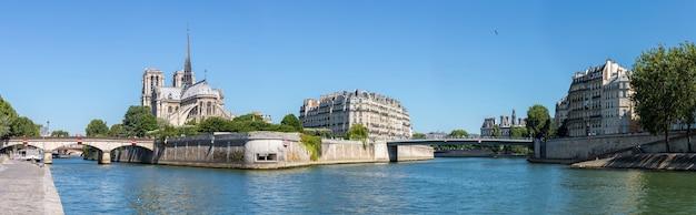 Parijs notre dame panorama