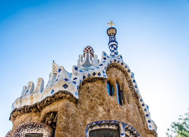 Park guell in bacelona