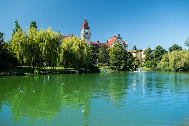 Park tolpy in wroclaw, polen