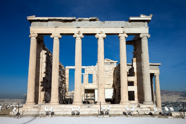 Parthenon op de akropolis