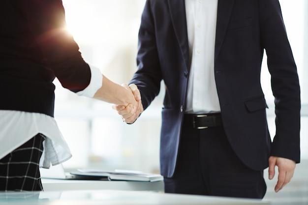 Partnerschap in het bedrijfsleven