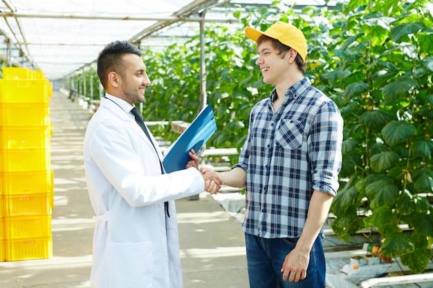 Partnerschap van boeren