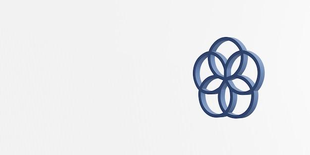 Partnerschappen om het 3d pictogram van het doelpictogram te bereiken