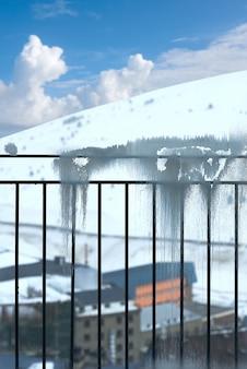 Pas de la casa-skitoevlucht van andorra in grandvalira