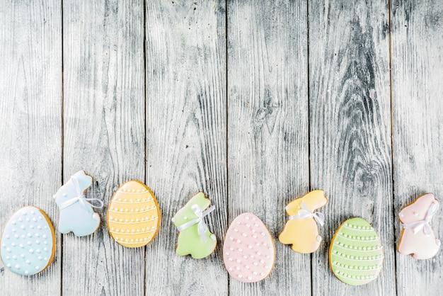 Pasen-koekjesachtergrond