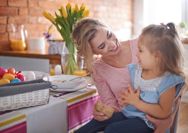 Pasen met mijn dochtertje is kostbaar voor mij