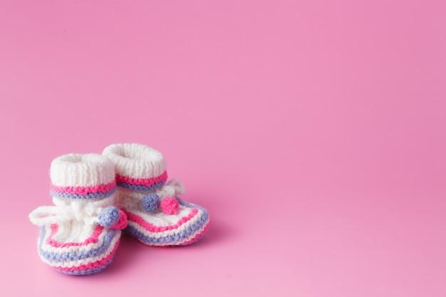 Pasgeboren aankondiging concept