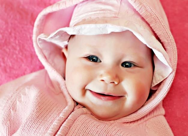 Pasgeboren baby in panama