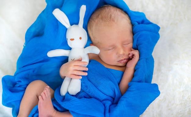 Pasgeboren babyslaap