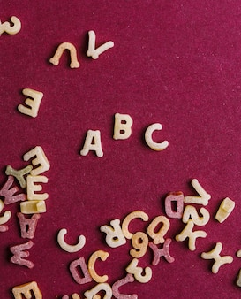 Pasta letters