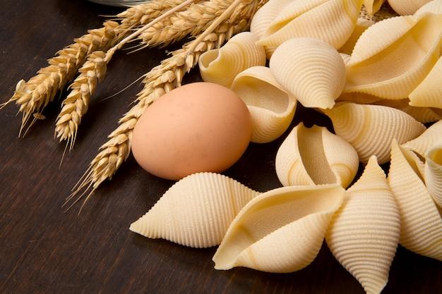 Pasta zelfgemaakt met verse ingrediënten