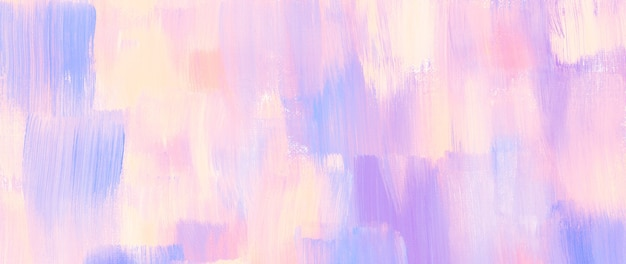 Pastel acryl textuur schilderij abstracte banner achtergrond origineel met scanbestand met hoge resolutie