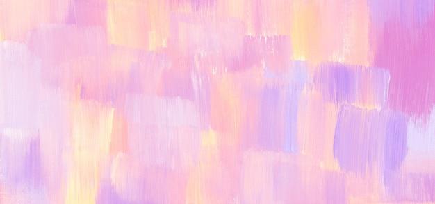 Pastel acryl textuur schilderij abstracte banner handgemaakte originele hoge resolutie scanbestand