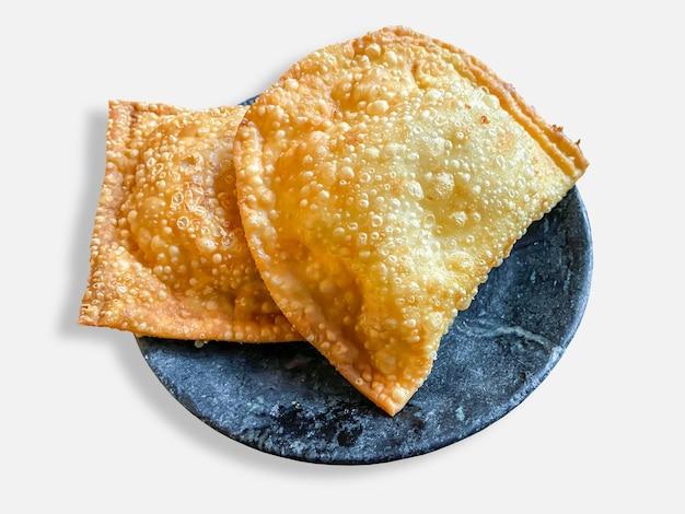 Pastel, braziliaanse snack. braziliaans eten.