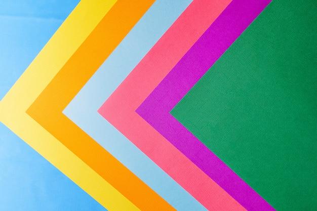 Pastel creatieve kleuren papier achtergrond