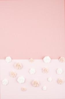 Pastel decoratieve minimale achtergrond