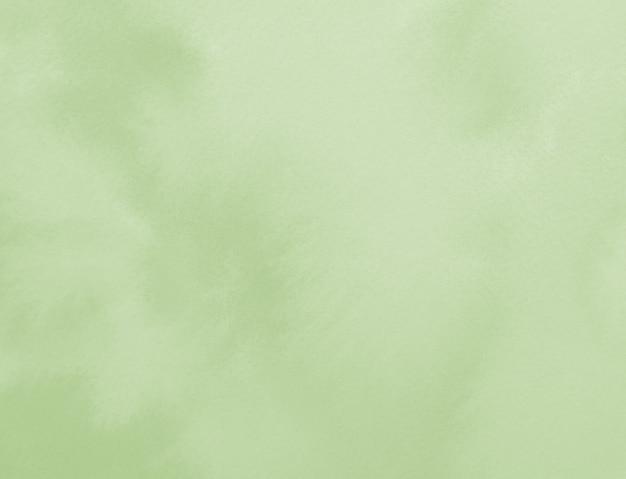 Pastel donker groene neutrale kleur geschilderd vlek aquarel abstracte achtergrond