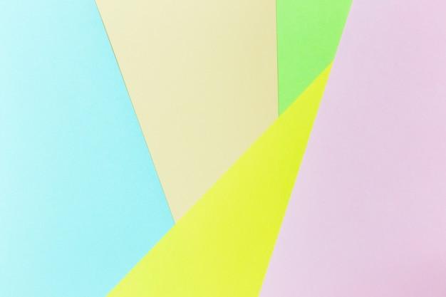 Pastel papier kleur achtergrond