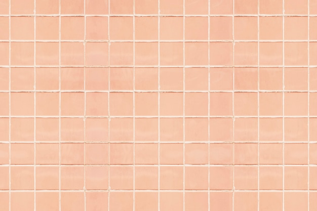 Pastel perzik tegels getextureerde achtergrond