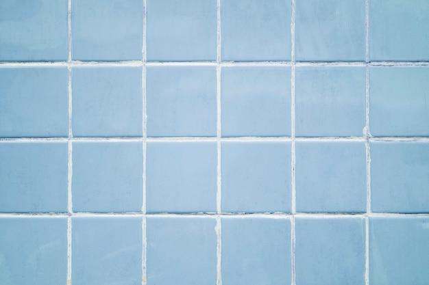 Pastelblauwe tegels getextureerde achtergrond