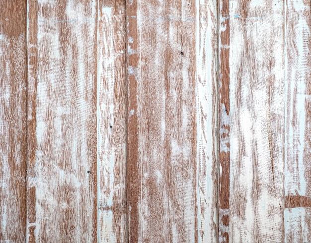 Pastelkleur houten houten wit met de muurachtergrond van de planktextuur