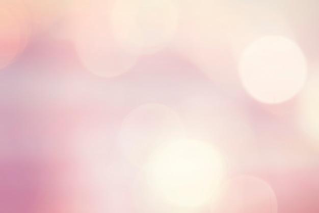 Pastelkleur roze bokehlichten