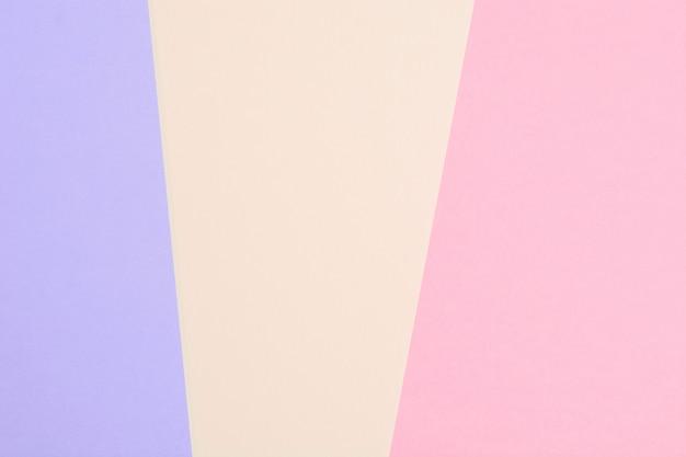 Pastelkleuren van papier gestructureerde achtergrond voor tekst. abstracte sjabloon