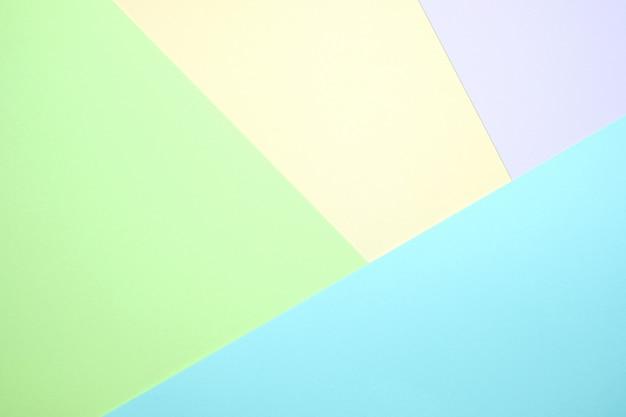 Pastelkleurpapier plat leggen