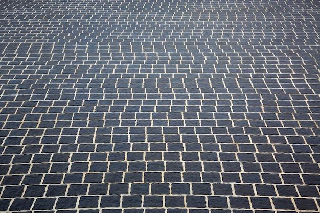 Patronen en texturen van stenen vloeren voor de achtergrond.