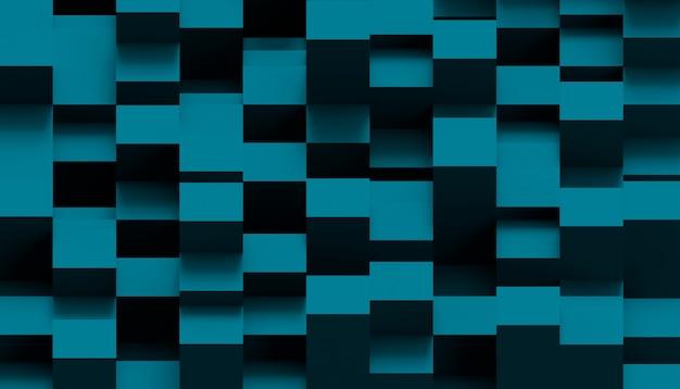 Patroon kubus split level geometrische compositie