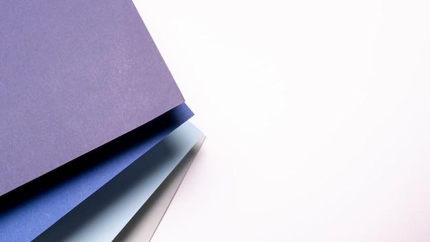 Patroon met tinten blauw met kopie ruimte