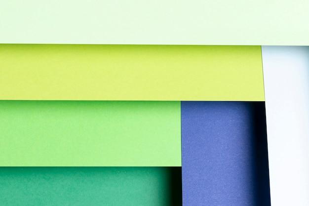Patroon met verschillende tinten koele kleuren