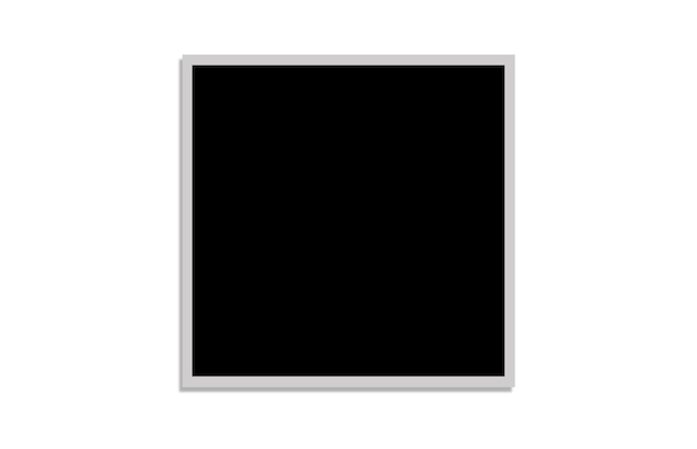 Patroon met zwart vierkant op witte achtergrond