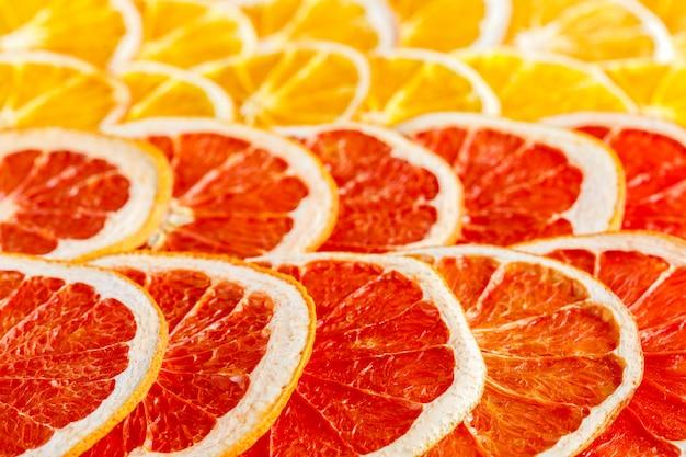 Patroon natuurlijke sinaasappelen