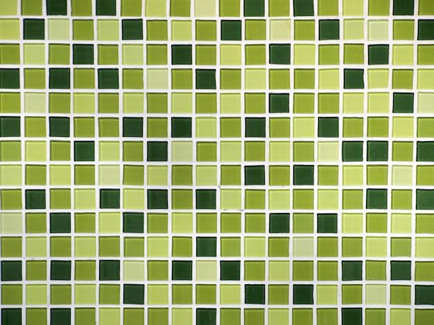 Patroon op de tegels in de badkamermuur