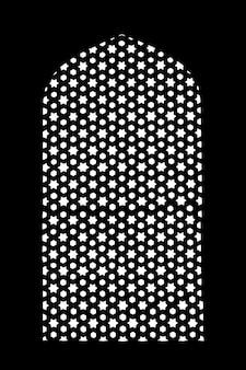 Patroon op humayuns tomb
