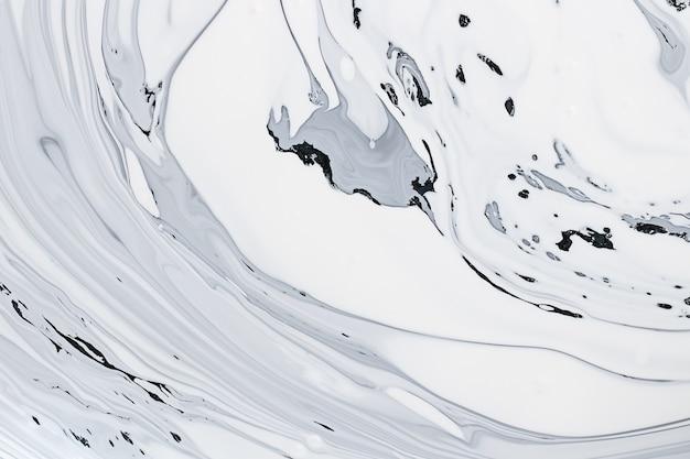 Patroon van de achtergrond van het patroon wit marmer met hoge resolutie.