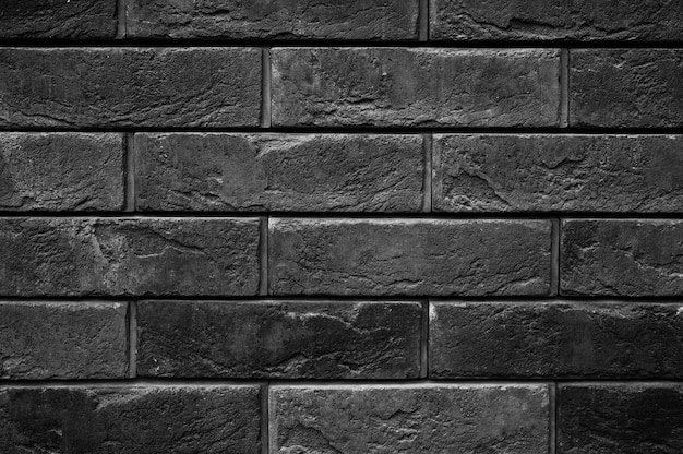 Patroon van decoratieve zwarte leisteen stenen muur oppervlak als achtergrond