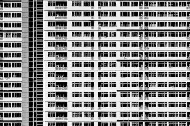 Patroon van geometrische architectuur