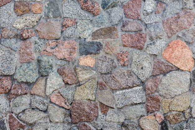 Patroon van stenen muur achtergrond.