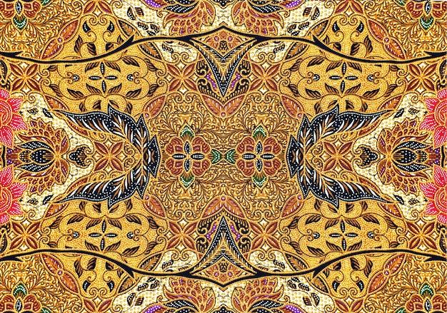 Patroon voor traditionele kleding maleisië omvat batik