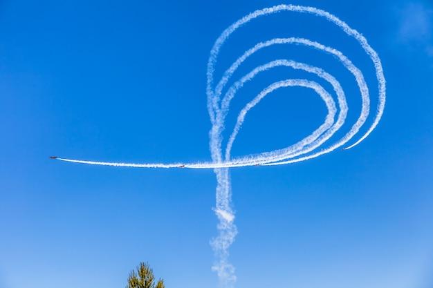 Patrulla aguila in de lucht